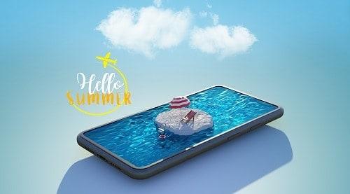 piscina inteligente automatizada