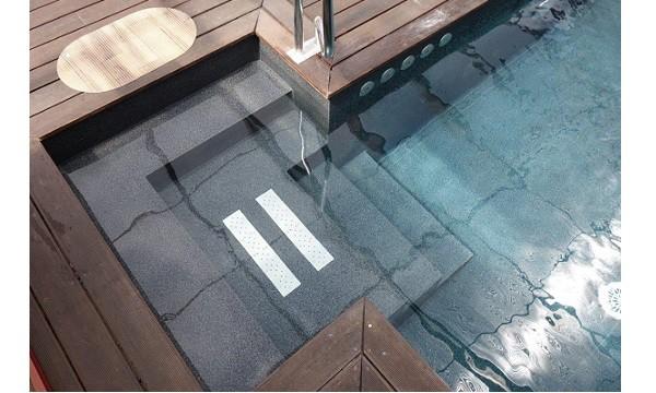como reparar el liner de una piscina