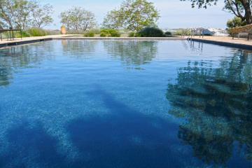 liner piscina negra