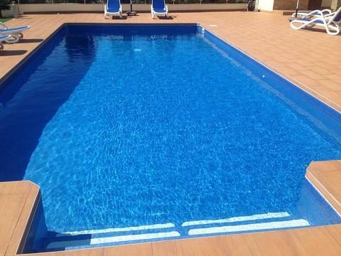 piscinas de obra con liner