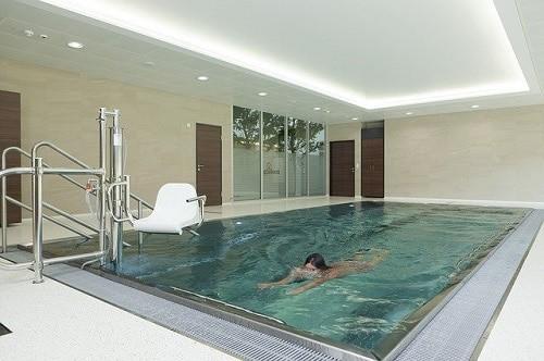 Opciones en el sistema de climatizacion de la piscina