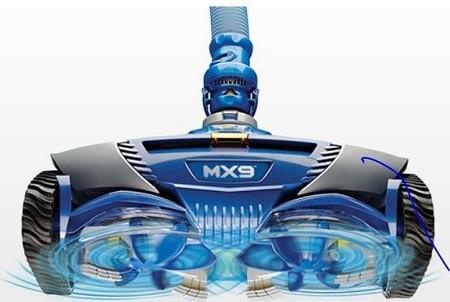 robot piscina hidráulico