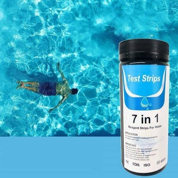 Tiras analíticas para el control del pH de la piscina