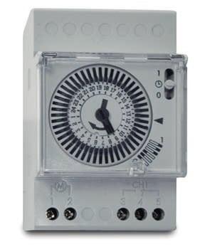 Reloj cuadro electrico piscina