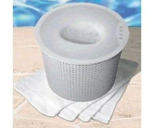 cubierta tela cesta skimmer piscina