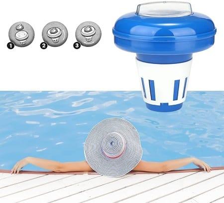 flotador dosificador bromo piscinas