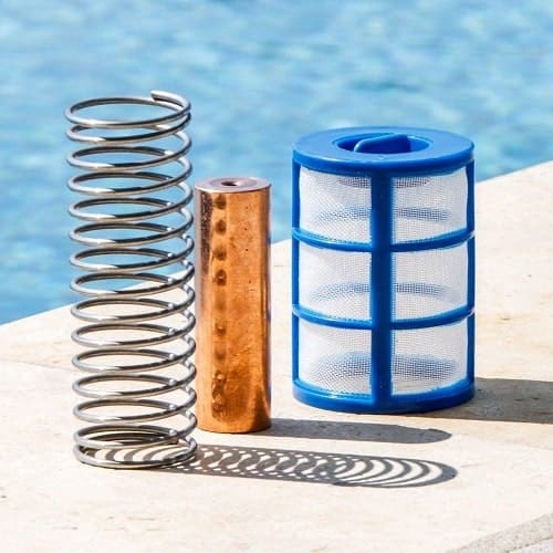 Kit de repuesto de iones para piscina solar