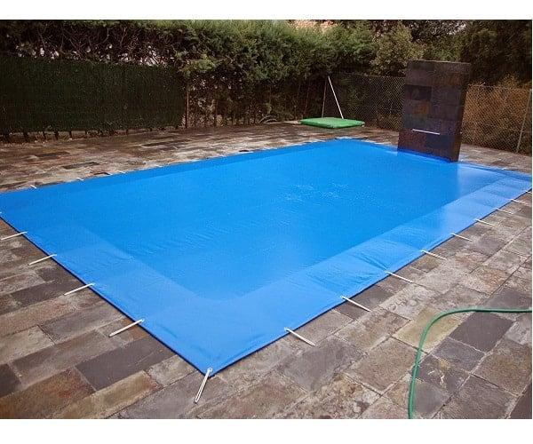 Cubierta piscina invierno
