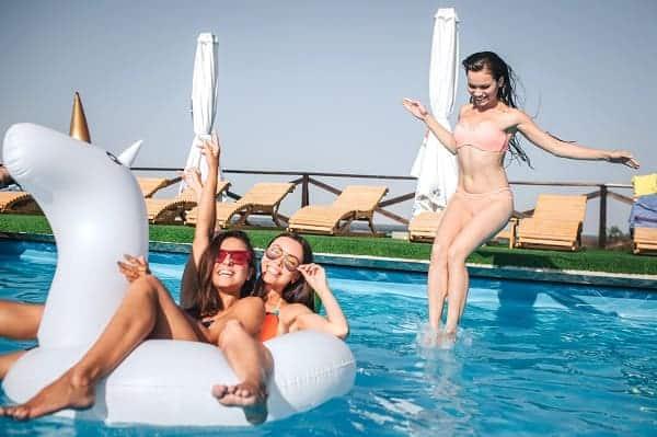 mantenimiento piscina liner armado