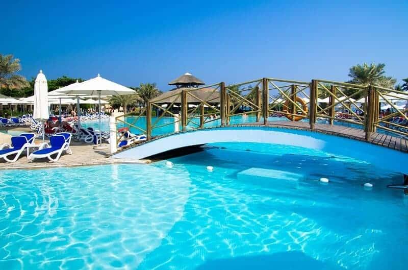 Revestimiento piscina liner armado hotel