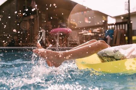 mantenimiento de agua del liner para piscinas