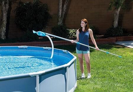 mantenimiento piscina desmontable liner
