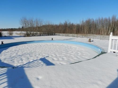 piscina invierno