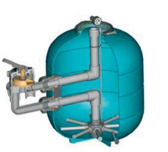 valvulas para filtros de piscinas lateral