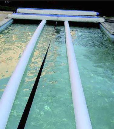 cubierta barras piscina