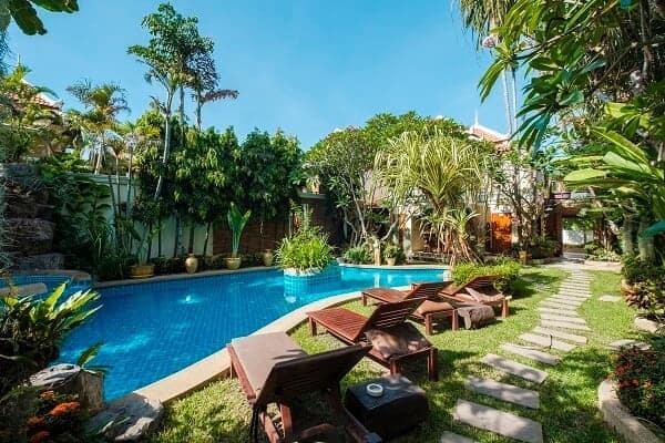 diseño piscinas y jardines