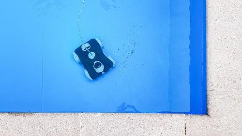 como usar robot piscina