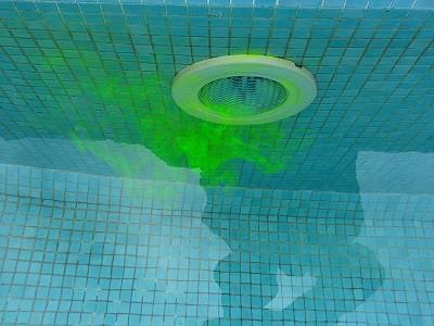 Como detectar fuga piscina con tinta
