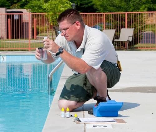 Función productos quimicos piscina