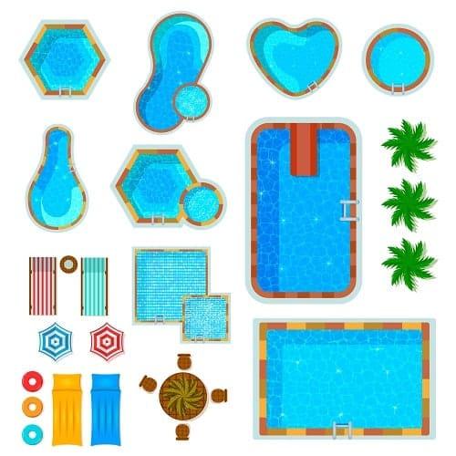 Qué formas de piscinas elegir