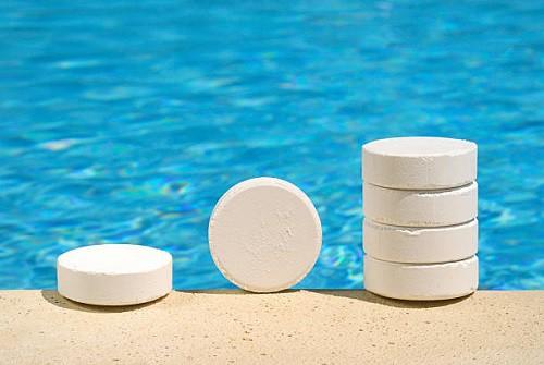cloro lento piscina