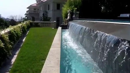 construccion piscina sin borde