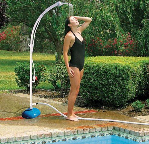 ducha portatil para piscina