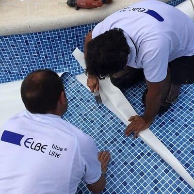 revestir liner piscina gresit