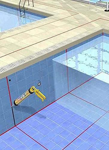 silicona neutra para sellados en piscinas