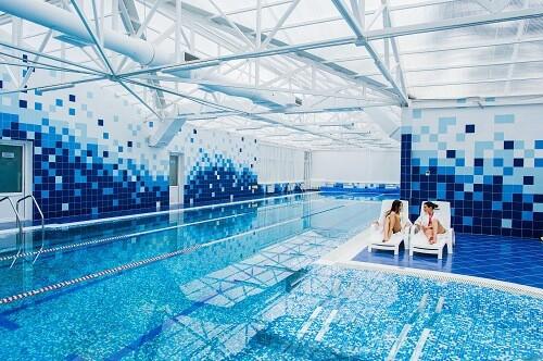 sistema climatizacion piscina interior