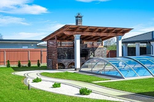 cubierta piscina eficiente