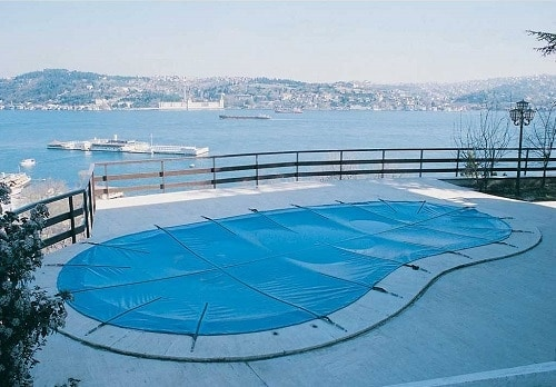 manta invierno para piscina