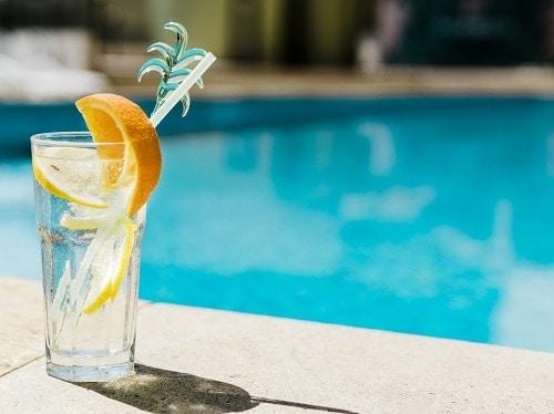 piscina sin sedimiento cal