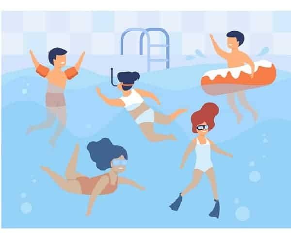 generar electricidad piscina