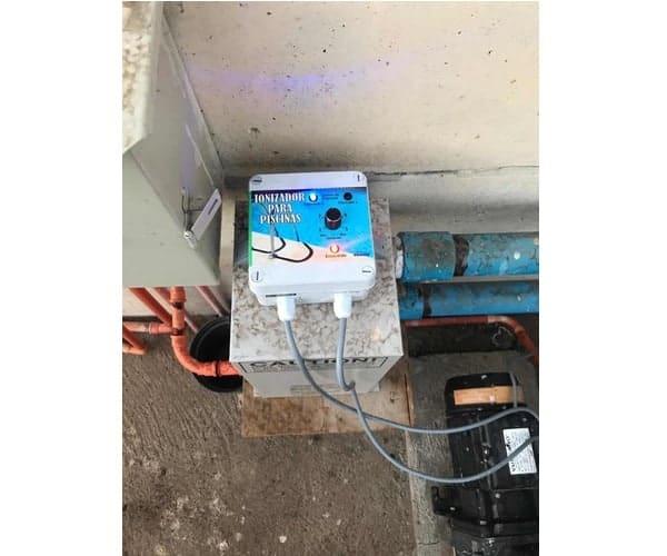 instalacion piscina ionizada electrica