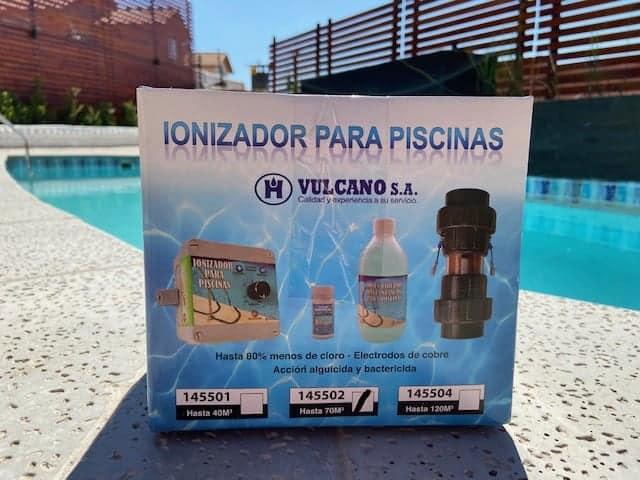 ionizador electrico piscina vulcano