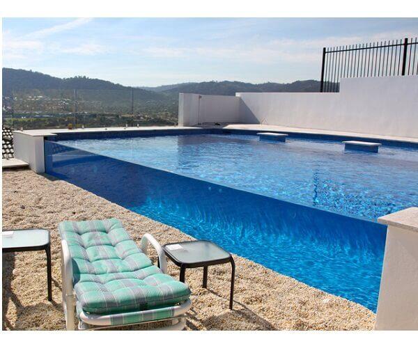 piscina de acrilico transparente