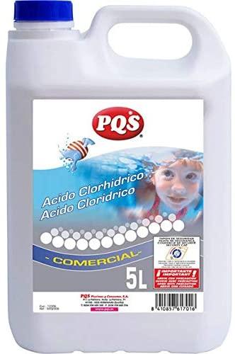 Comprar acido clorhidrico para piscinas