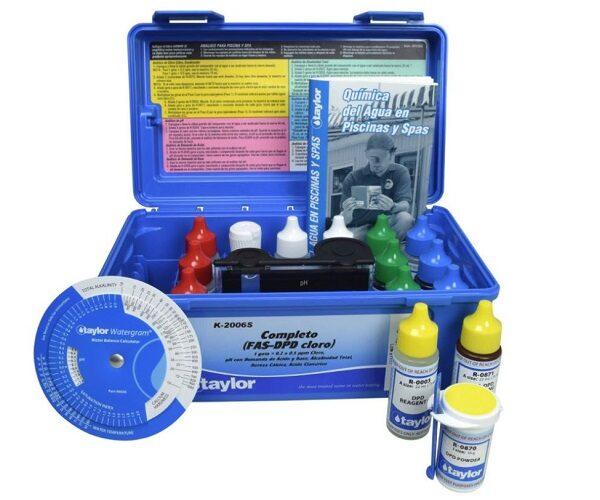 Medir acido isocianurico en piscinas
