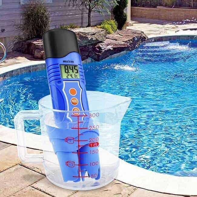 controlar valores agua piscina