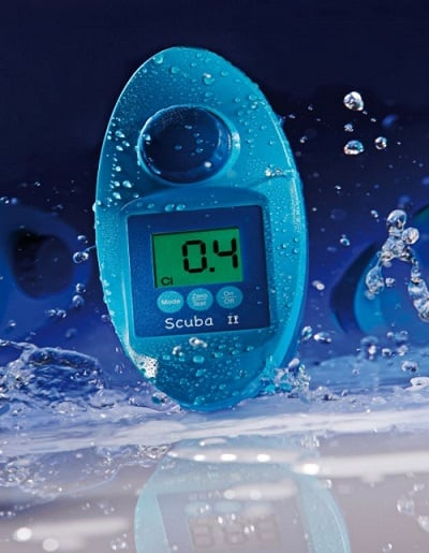 fotometro piscina scuba