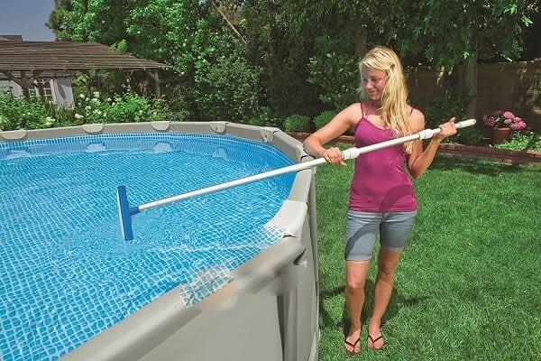 limpiar piscina manual