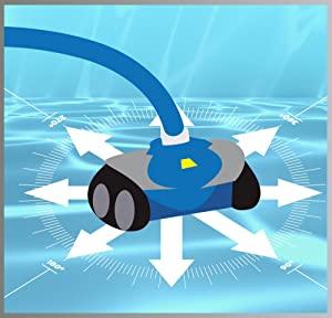 limpieza sistemática limpiafondos hidraulico