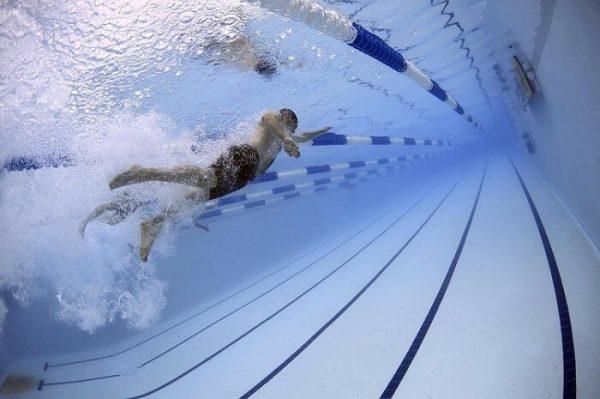 natacion en piscina olimpica