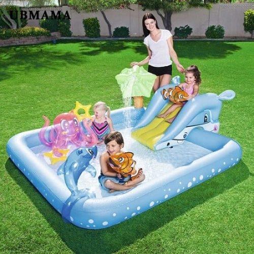 piscina inflable para niños