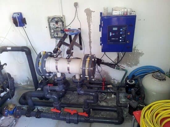 clorador salino instalado