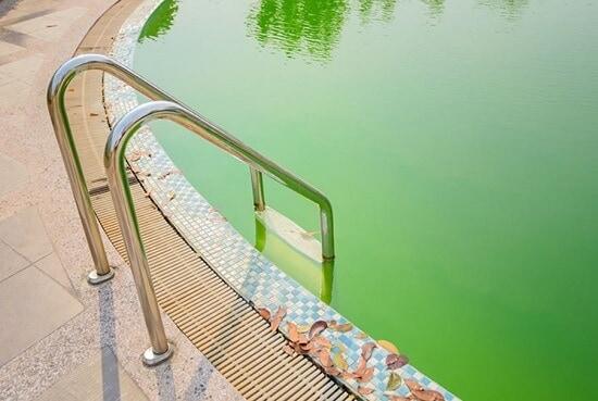 fosfatos en la piscina