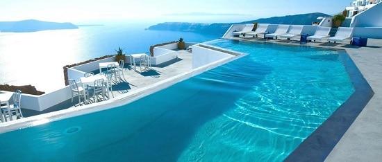 hotel con piscina de sal
