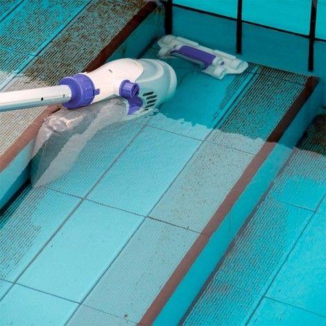 limpia fondo piscina bateria