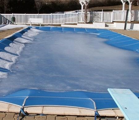 invernar la piscina